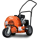 SuperHandy Leaf-SNOW Blower Wheeled Walk Behind Jet Sweep Manual Propelled Powerful 7HP 212cc 4 Stroke OHV Motor Output Wind