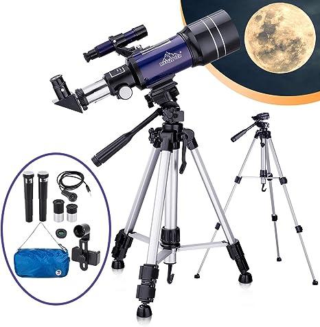 Telescopio Astronómico para Niños Adultos Principiantes ...