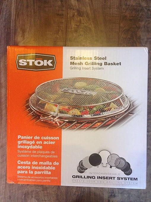 Amazon.com: STOK Stainless Steel Mesh Grilling Basket NIB SIS3050T ...