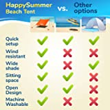 HappySummer Beach Tent sandbag Anchors—The