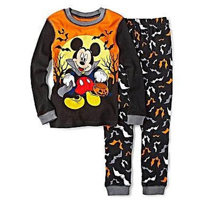 amazoncom boys disney mickey mouse pajamas batty halloween 5 clothing