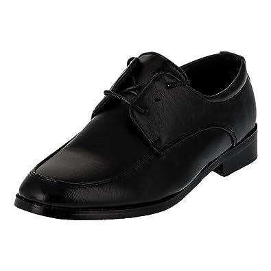 sale retailer 5e7dc 03207 Mikelo Festliche Jungen Anzug Schuhe mit Leder Innensohle für Hochzeit  Party Feier