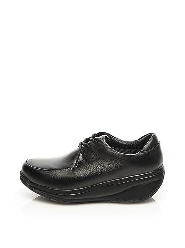 Schnürschuhe Elegance Black in Schwarz, Größe 34 1/3, Artikelnummer 501biz Joya