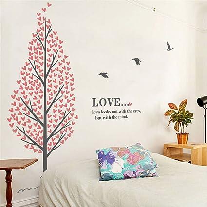 Amazon Com Stazsx Love Tree Wall Stickers Living Room Bedroom