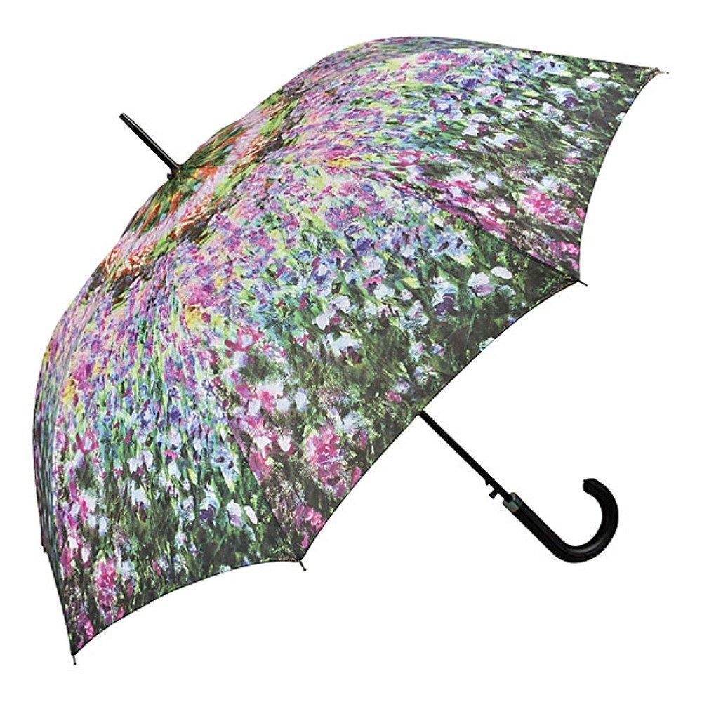 VON LILIENFELD® Parapluie Automatique Femme Homme Floral Art Claude Monet: Le jardin Beim Jupiter Accessoires GmbH 5521A