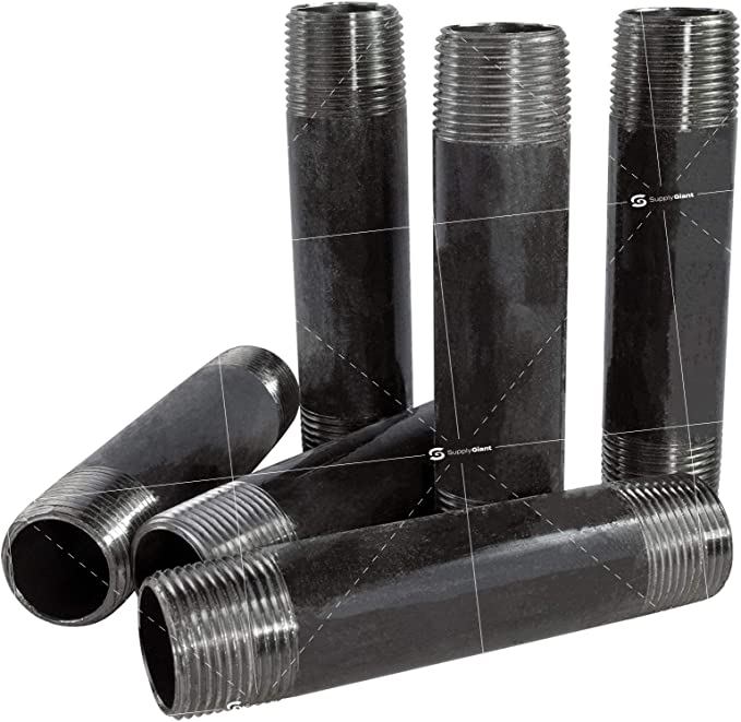 330024605 1 X 3-1//2 Black Pipe Nipple Sch 40