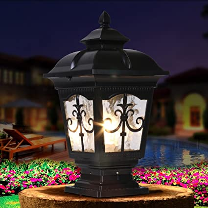Lights & Lighting Garden Pillar Lamp Wall Lamp Headlight Landscape Garden Lamp Led Lawn Lamps