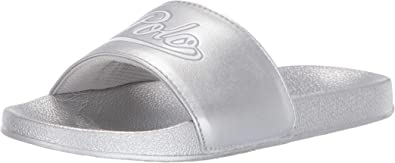 Polo Ralph Lauren Yalesville Blanco/Gris (White/Light Grey) Metallic ...