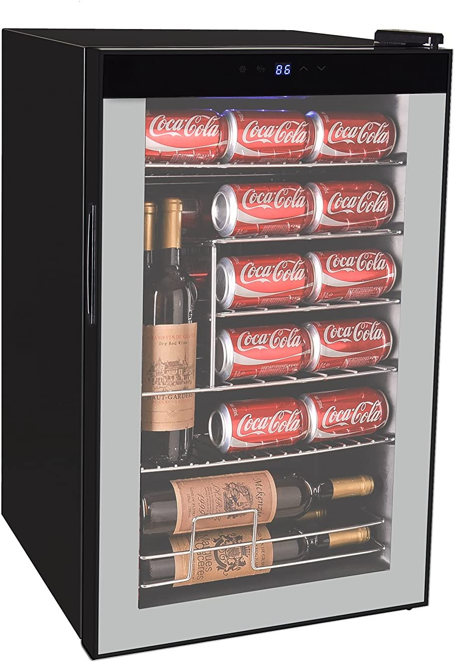 RCA RMIS2434 Beverage Center (101 Cans or 24 Wine Bottle), Black