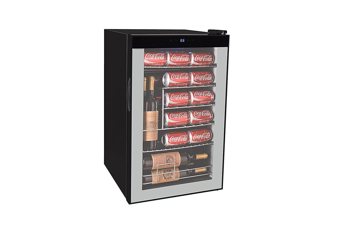 RCA wine cooler fridge beverage cooler (101 can or 24 bottle)