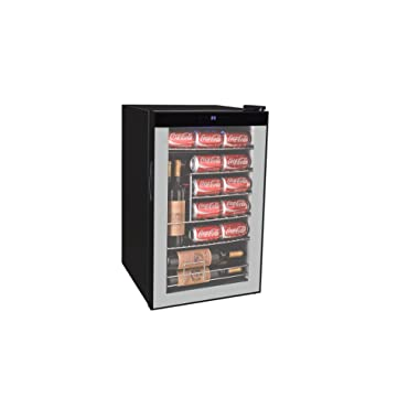 RCA Beverage Center (101 Cans Or 24 Wine Bottles), Black