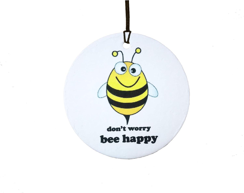 Amazon.es: AAF Ambientador De Coche Dont Worry Bee Happy