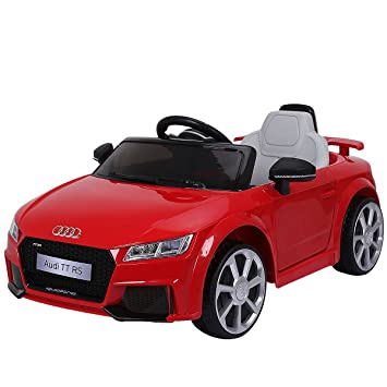 Amazon Com Costzon Kids Ride On Car Licensed 12v Audi Tt Rs