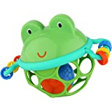 Oball Musical Toy, Jingle & Shake Pal, Easy-Grasp Rattle Toy, Ages Newborn +