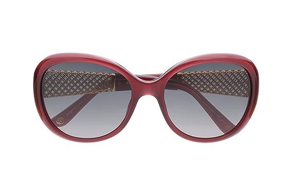 35551449b7a Gucci sunglasses GG 3693  S Diamantissima 3JAHD Acetate plastic Red - Gold  Grey Gradient  Amazon.co.uk  Clothing