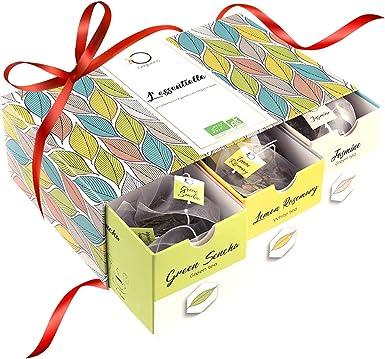 ☘️ TE ORGANICO - Caja té Orgánico | Surtido de té premium, 6 ...