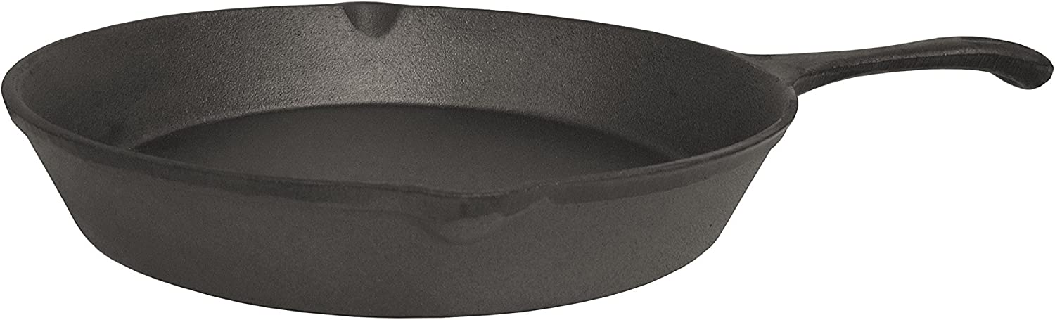World Famous Sports Treated Cast Iron Skillet