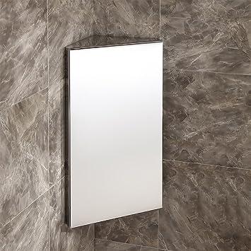 Badezimmer Spiegelschrank Edelstahl Eck Unterschrank Wand Montiert