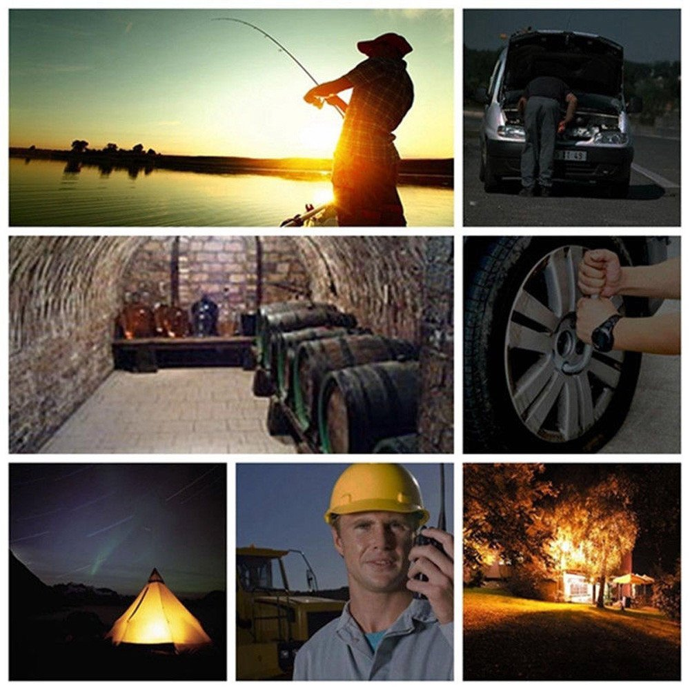 30W USB COB LED Portable Rechargeable Flood Light Spot Work Camping Outdoor Lamp by Dressffe by Dressffe (Image #8)