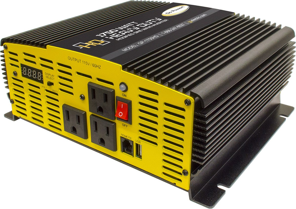 Go Power Gp 3000hd 3000 Watt Heavy Duty Modified Sine Wiring A Plug Ks2 Wave Inverter Automotive