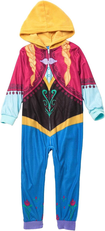 American Marketing Disney Little Girls Frozen Anna Sleeper Blanket Pajamas
