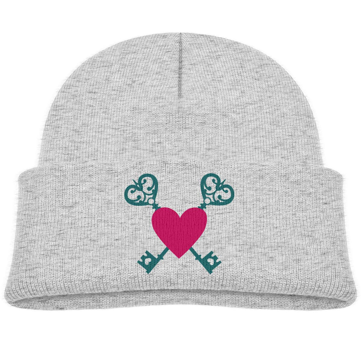Crossed Keys with Heart Beanie Hat Toddler