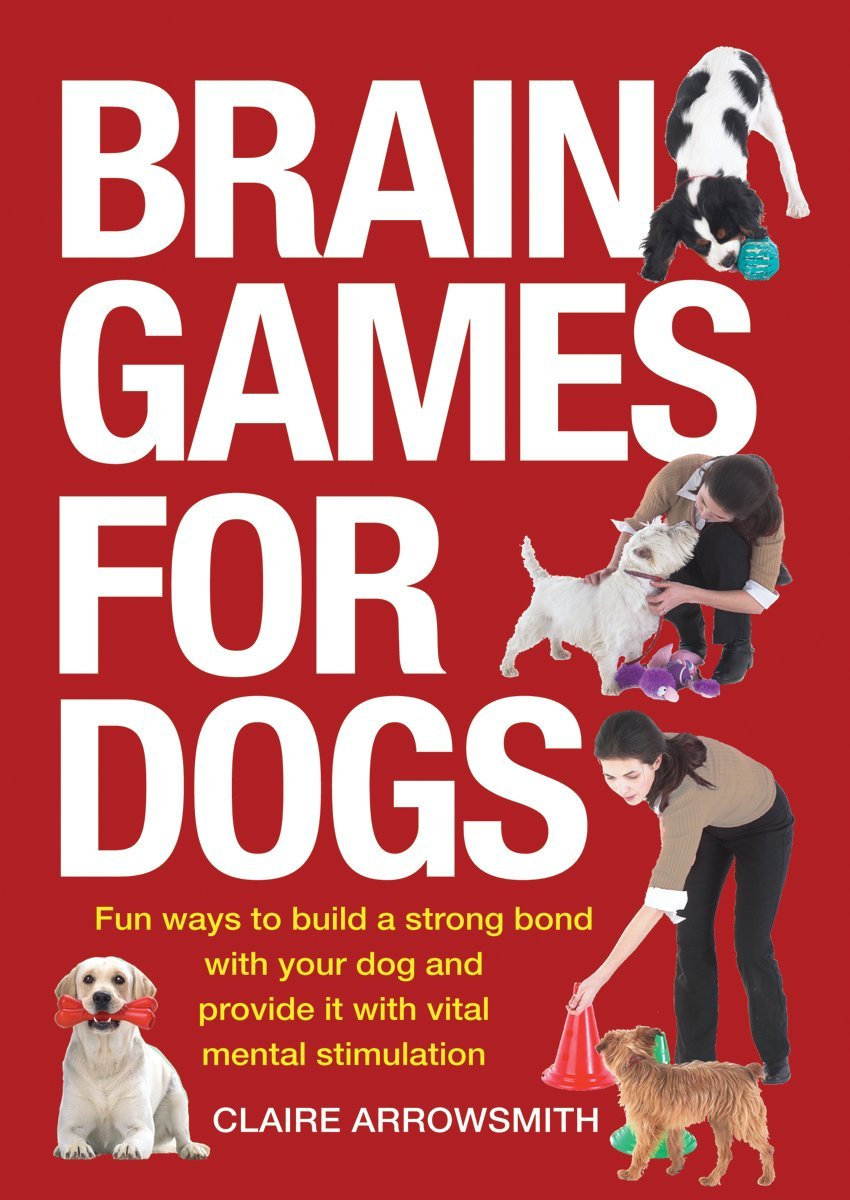 Brain Games for Dogs: Fun Ways to Build a Strong Bond with Your Dog and Provide It with Vital Mental Stimulation by Firefly Books Ltd