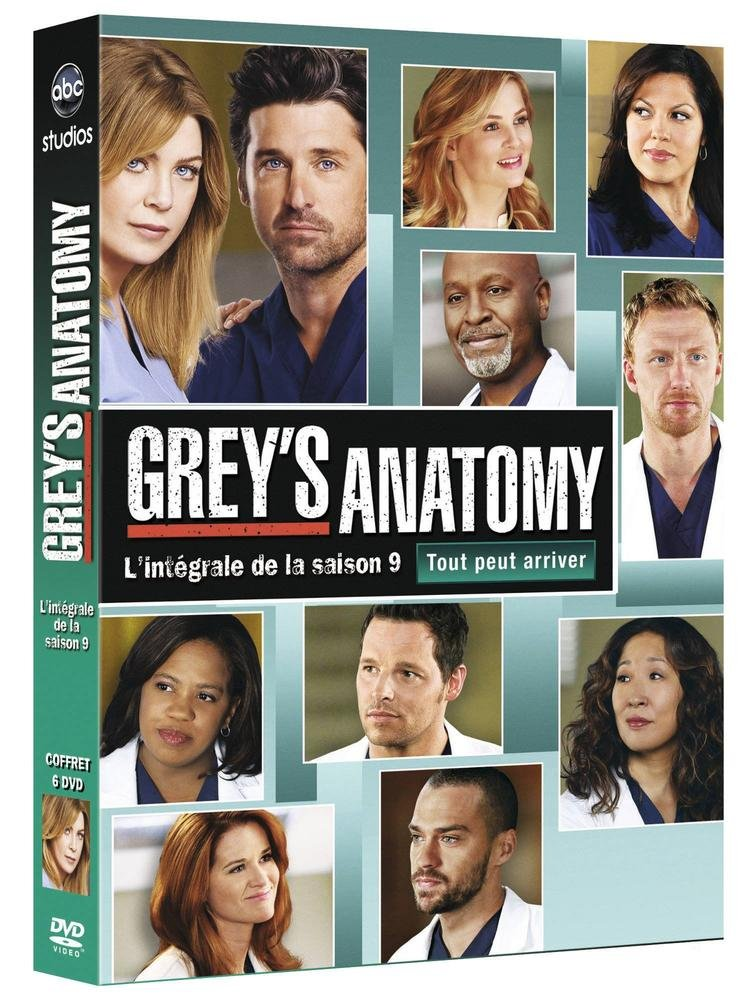Greys Anatomy Coeur Ouvert Saison 9 Amazon Dvd