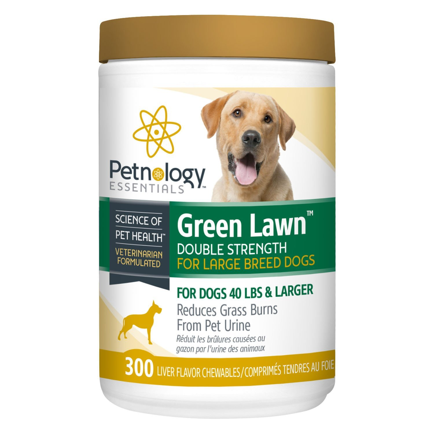 Petnology Green Lawn Double Strength Chewable, 300 Count
