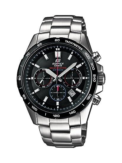 Casio EFR-518SB-1AVEF - Reloj de cuarzo para hombres, color plata: Amazon.es: Relojes