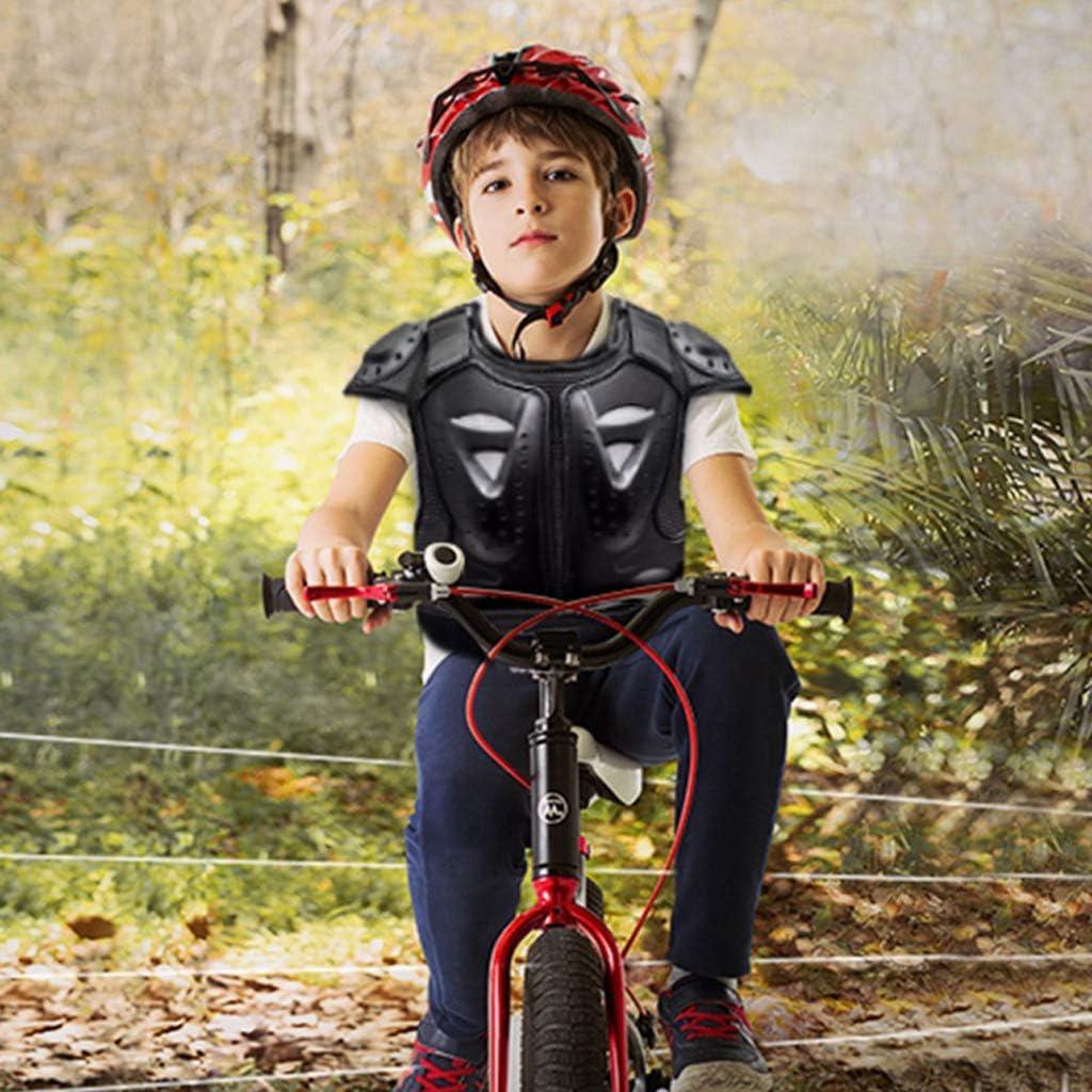 perfeclan V/êtements Protection Moto Motocross Protection Dorsale pour Patinage Protection Poitrine /épaules Vert/ébrale
