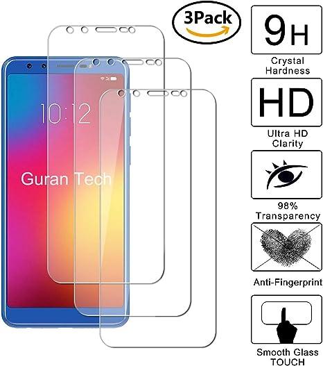 Guran [3-Unidades] Protector de Pantalla Vidrio Cristal Templado para Lenovo K9 Smartphone Cristal Vidrio Templado Film (9H, 2.5D Edge, 0.3mm): Amazon.es: Electrónica