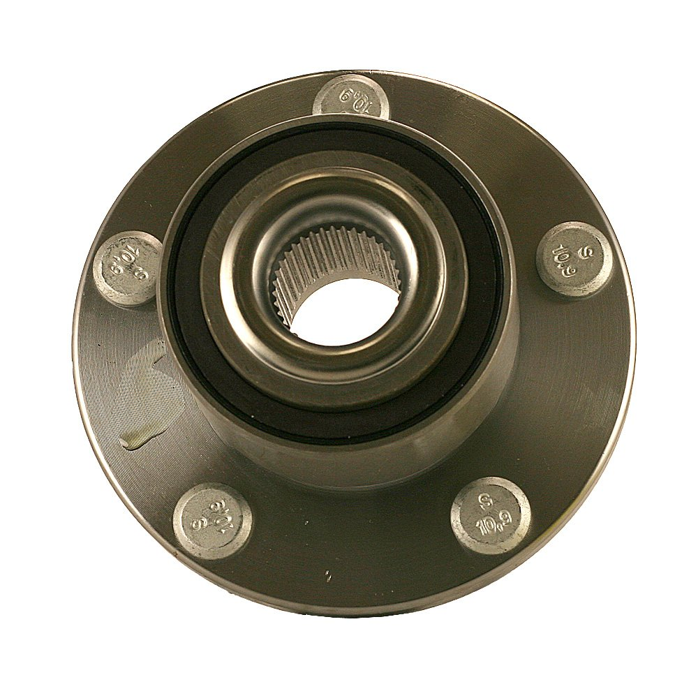 1.513255 New Axle Wheel Hub and Bearing Assembly 5 LUG Non-ABS Front