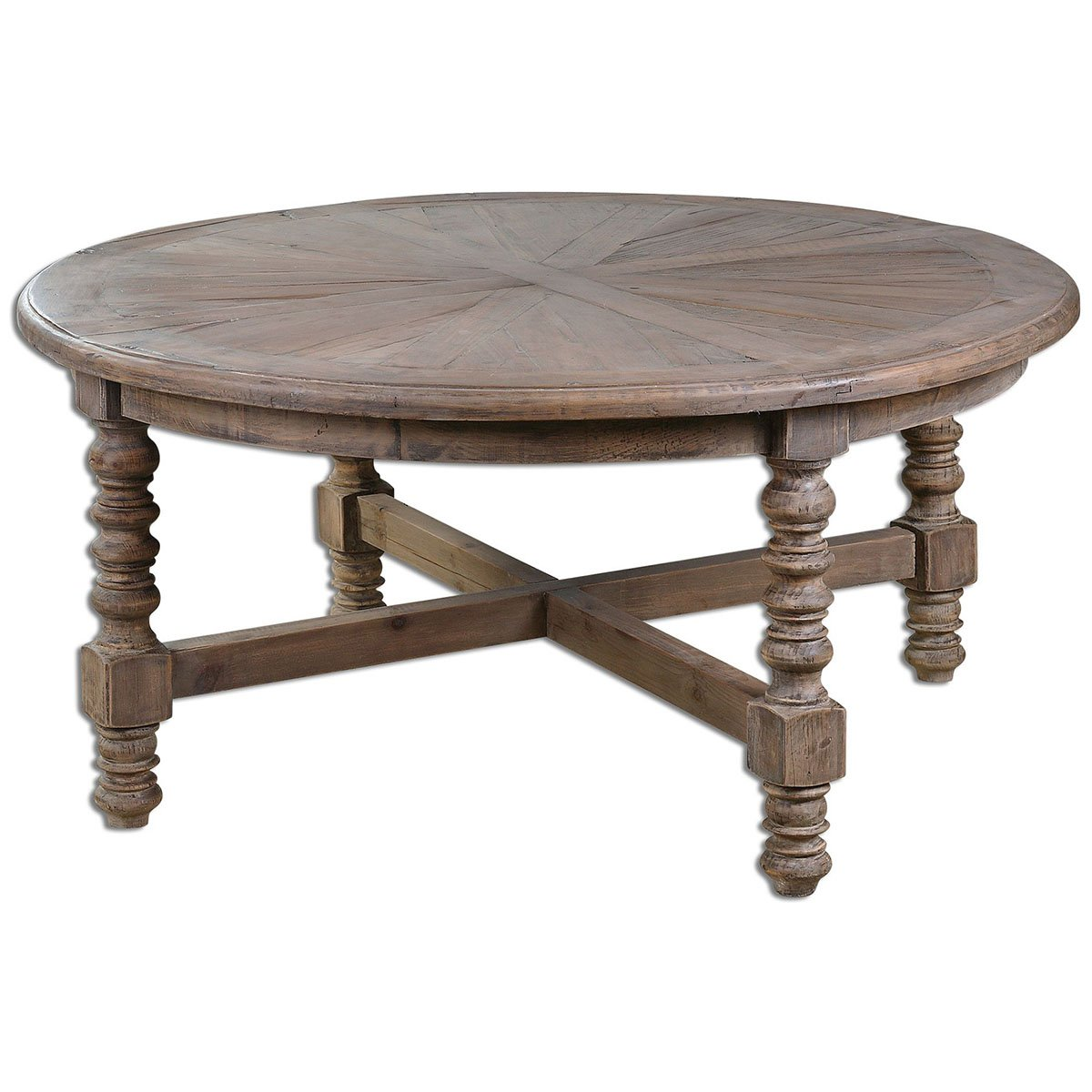 Amazon.com: Uttermost 24345 Samuelle Wooden Coffee Table: Kitchen & Dining