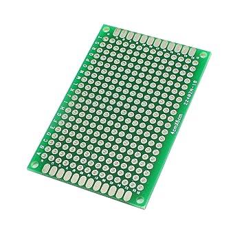 Amazon.com: Verde estañado de Prototipos universal PCB placa ...