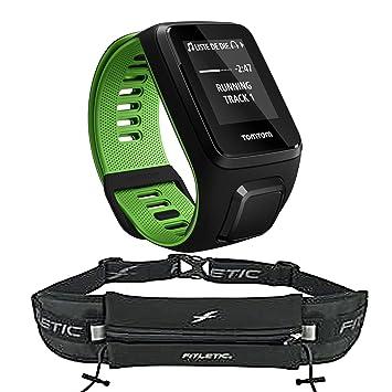 Pulso Reloj TomTom Runner 3 Cardio Large, incluye Ifitness Fitletic correa funda – Gel –