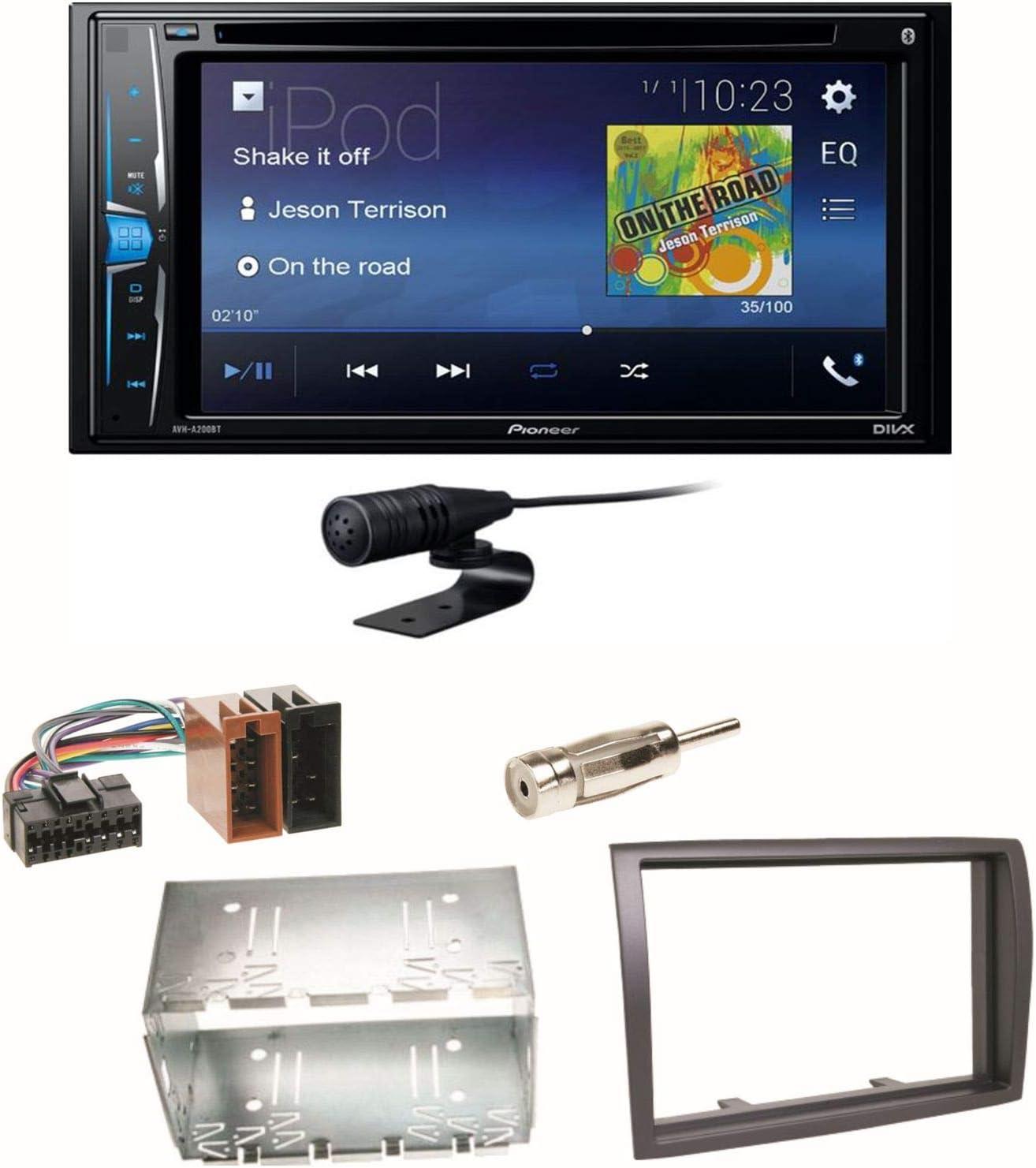 Pioneer Avh A210bt Usb Autoradio Touchscreen Bluetooth Elektronik