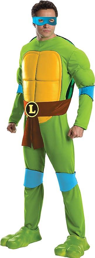 Rubies Costume Mens Teenage Mutant Ninja Turtles Deluxe Adult Muscle