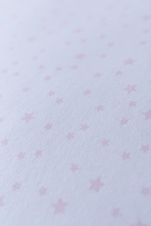 Bleu, /étoiles et rayures, Lot de 2 Clair de Lune Crib Lot