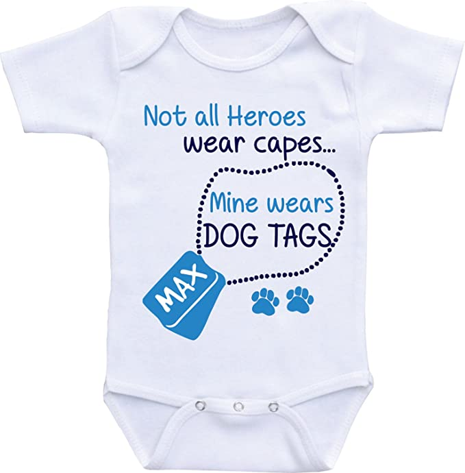 106bc1ae72 Promini Funny Baby Onesie Big Brother Dog Baby Bodysuit Cute Infant  One-Piece Bodysuit Best