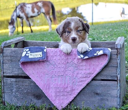 small Dog Christmas gift dog Christmas blanket personalized puppy blanket puppy Christmas gift