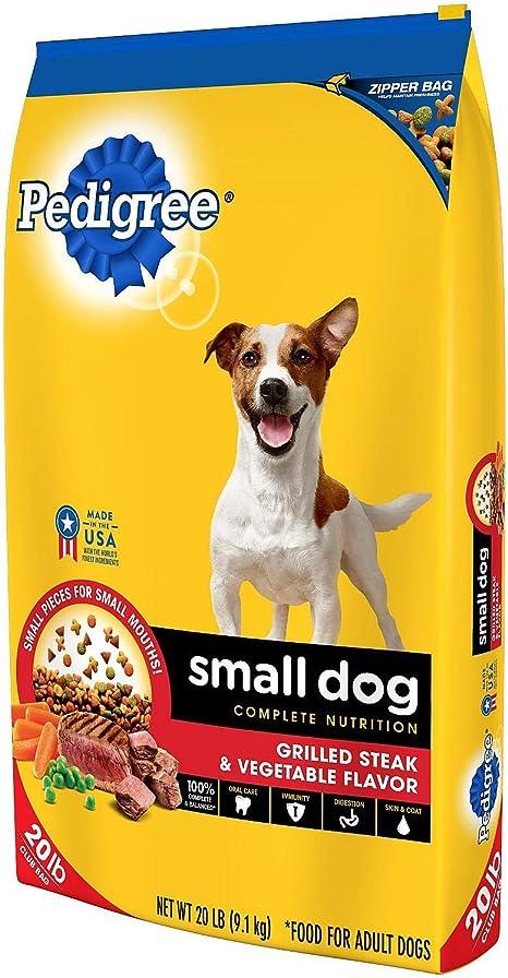 Amazon Com Pedigree Small Dog Targeted Nutrition Dog Food Steak