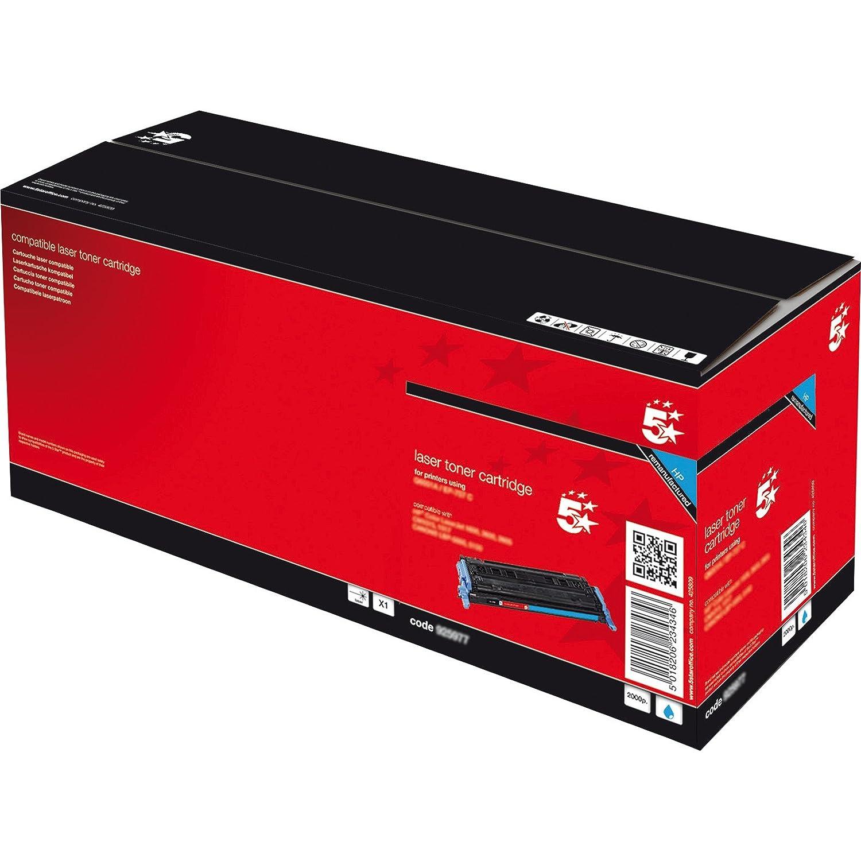Toner 5 Star per compatibile HP Q7581A ciano compatibile per 412a68