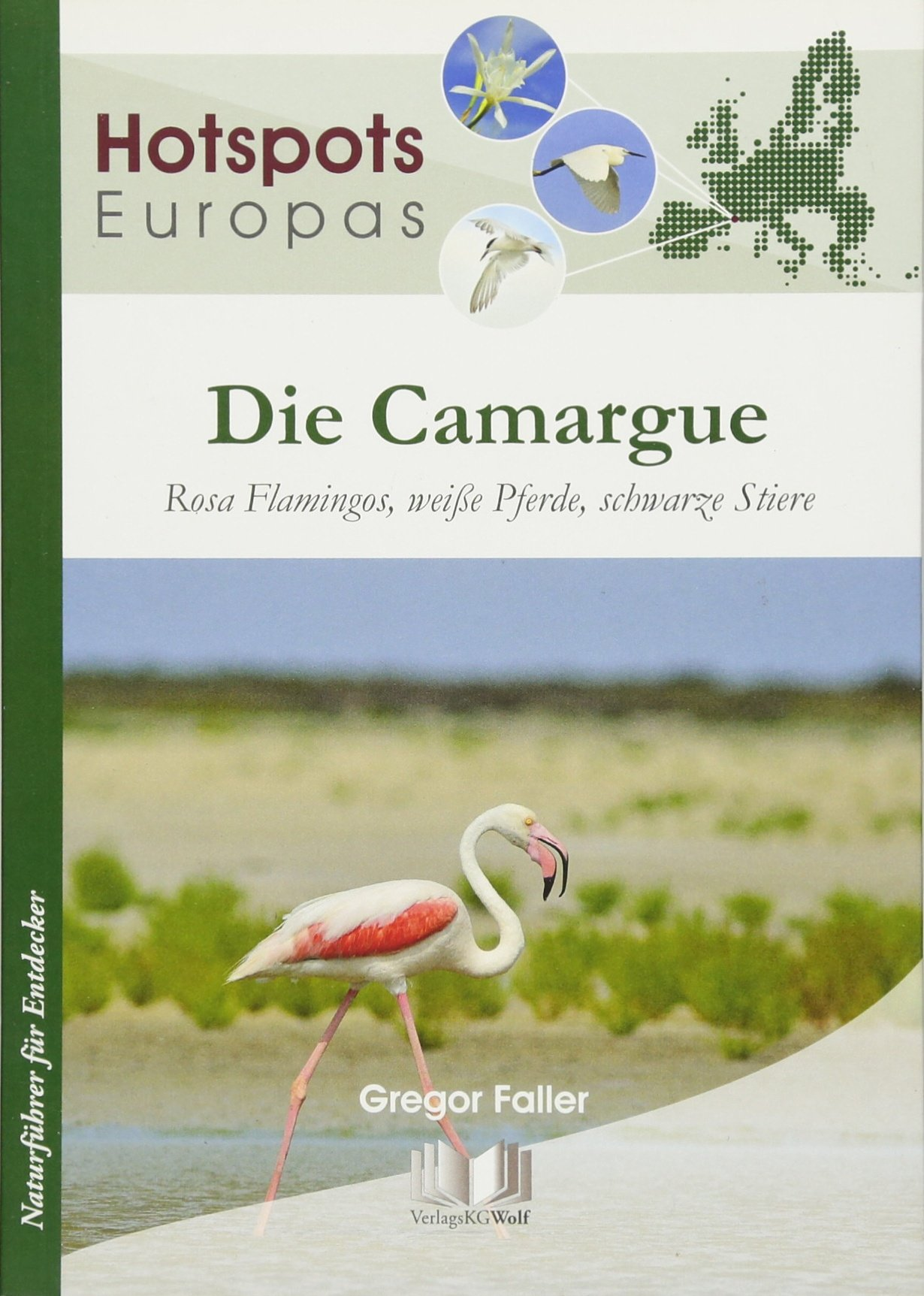 Die Camargue: Rosa Flamingos, weiße Pferde, schwarze Stiere (Hotspots Europas)
