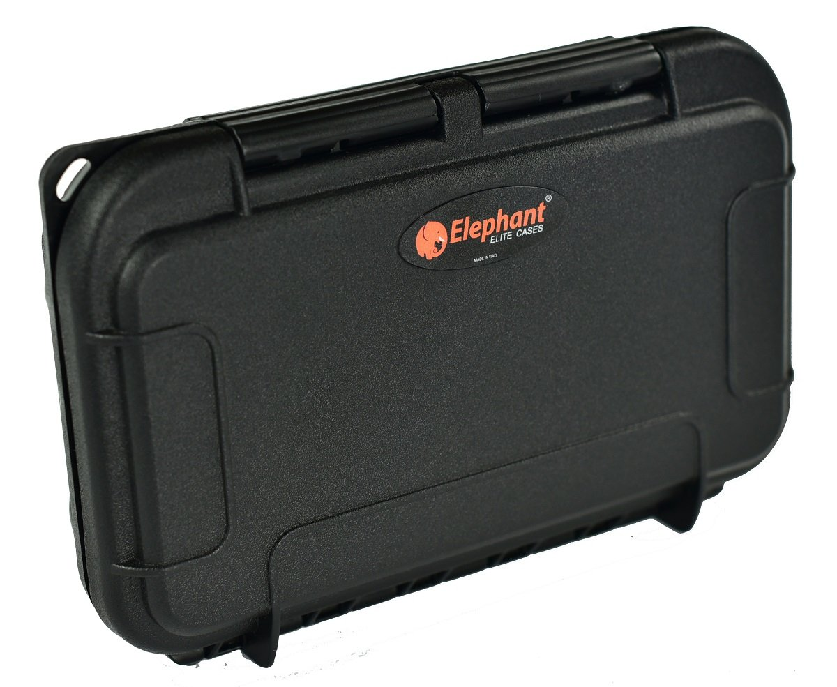 Waterproof Dust-Proof Professional 26 SD Memory Card Protective Case ELSD-26BB Black Case with Black foam.