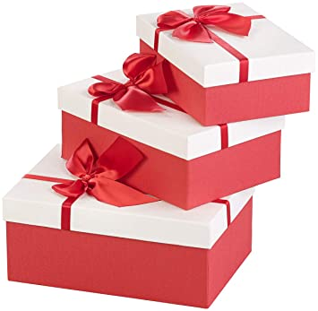 Geschenkboxen verschiedene groben