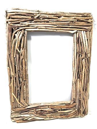 Amazoncom Tikimaster Driftwood Frame 32 X 24 Coastal Living