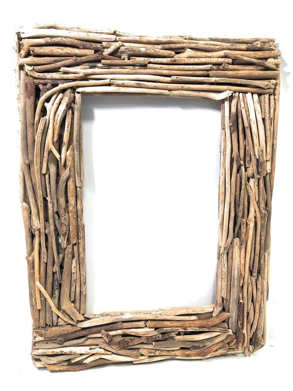 TikiMaster Driftwood Frame 32'' X 24'' - Coastal Living   #lis31005f
