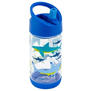 Stephen Joseph Flip Top Bottle Shark