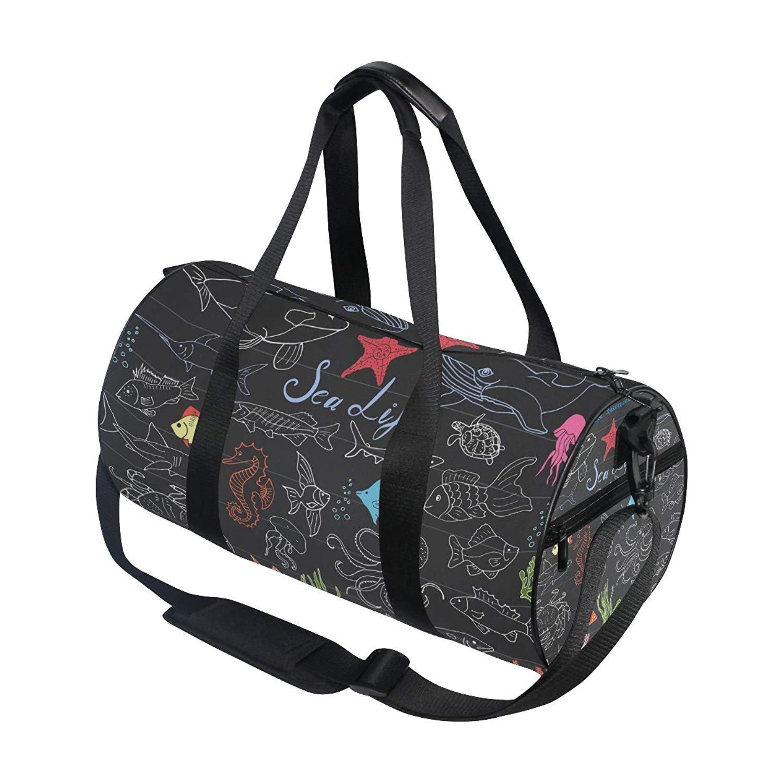 4f90509f70c Amazon.com   OuLian Duffel Bag Cute Ice Cream Women Garment Gym Tote Bag  Best Sports Bag for Boys   Sports   Outdoors